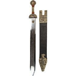 Bronze Julius Caesar Roman Sword by Art Gladius of Toledo Spain